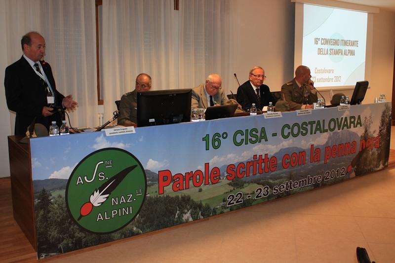 Ass naz alpini sez conegliano 2012 convegno stampa alpina for Soggiorno alpino costalovara